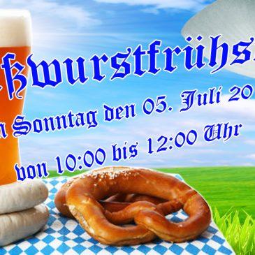 Sommer Sonntag Weißwurst
