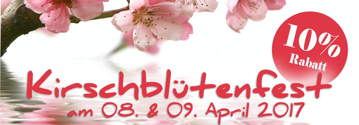 Kirschblütenfest am 08. & 09. April 2017